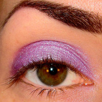 Perfect ending Mineral makeup Eyeshadow Nom de Plume collection (Light lilac/purple with green & mauve shimmer plus aqua sparkle) Eye shadow