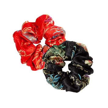 Nini Brocade Scrunchie