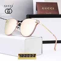 GUCCI stylish casual men's and women's sunglasses are hot sellers of high-definition polarized sunglasses