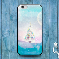 iPhone 4 4s 5 5s 5c 6 6s plus + iPod Touch 4th 5th 6th Generation Cute Custom Girly Girl Princess Fantasy Castle Phone Cover Fun Clouds Case
