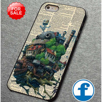 Howl's Moving Castle art  for iphone, ipod, samsung galaxy, HTC and Nexus Case