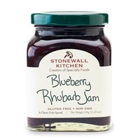 Stonewall Kitchen Blueberry Rhubarb Jam, 11.25 oz (319g)