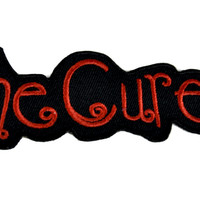 The Cure Patch Iron on Applique Robert Smith