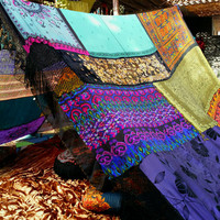 IN STOCK! Witchy Gypsy Woman Boho tent silk hippy scarves hippie patchwork coachella Wedding Decor photo prop backdrop Bohemian