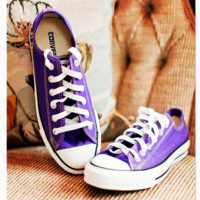 Converse All Star Sneakers for Unisex sports  shoes Purple