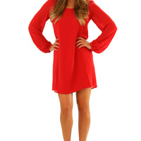 RESTOCK: What I Want To Hear Dress: Red