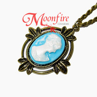 THE VAMPIRE JOURNALS Katherine's Victorian Cameo Necklace