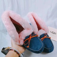 UGG Women Fashion Casual Flats Shoes Boots Shoes-4