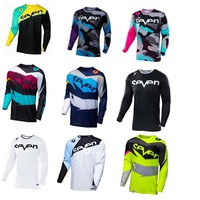 2018New Brand  New Seven Motocross Jersey Downhil Mountain Bike DH Shirt MX Motorcycle Clothing Ropa For Men Quick Dry MTB T Shi