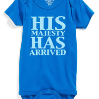 'His Majesty Has Arrived' Bodysuit (Baby Boys)