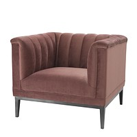 Rose Velvet Accent Chair | Eichholtz Raffles