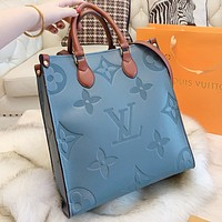 Louis Vuitton LV Fashion New Monogram Leather Shopping Leisure Handbag Women Crossbody Bag Shoulder Bag