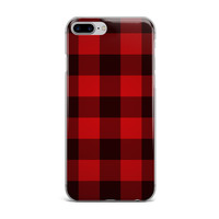 Red Buffalo Plaid iPhone Case