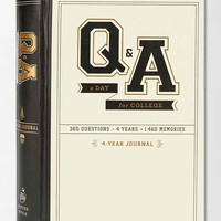 Q&A College Notebook- Assorted One