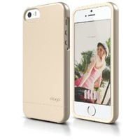 iPhone SE, elago Glide Case for iPhone SE/5/5S - eco friendly Retail Packaging (Soft Feeling Champagne Gold)