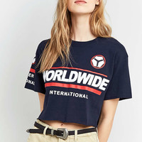 BDG Worldwide Cropped T-Shirt - Urban Outfitters