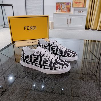 FENDI Fashion Men Women's Casual Running Sport Shoes Sneakers Slipper Sandals High Heels Shoes