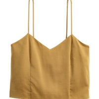 Silk Camisole Top - from H&M