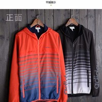 "Fashion ""ADIDAS"" Hooded Zipper Cardigan Sweatshirt Jacket Coat Windbreaker Sportswear [10753567747]"