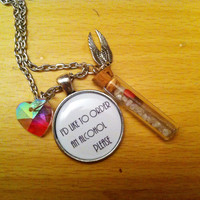 Sam Winchester - Quote - Salt And Burn - Necklace