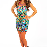 Play For Keeps Dress: Multi