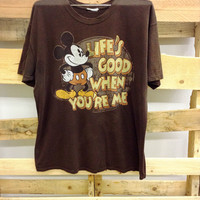 Vintage Disney Tee- Life's Good When You're Me