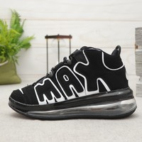 Nike Air More Uptempo 720 Black White Men Snakers - Best Deal Online