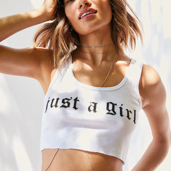 No Doubt Just A Girl Tank Top | Urban Outfitters