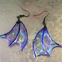 Dragon Wing Earrings Gothic Punk Steampunk Earrings Jewelry Accessories