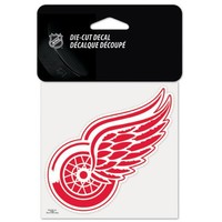 """NHL Detroit Red Wings Perfect Cut Color Decal, 4"""" x 4"""""""