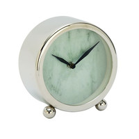 Appealing Stainless Steel Table Clock