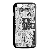 5 Seconds of Summer Songs Collage For iPhone 6S Case
