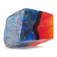 Soap Rock - 6 oz. - Fire Opal Design with Fresh Scent