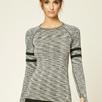 Active Marled Seamless Knit Top
