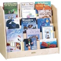 Guidecraft Single Sided Book Browser Set