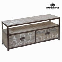 Tv 2 drawers furniture industrial by Craften Wood
