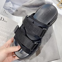 Bunchsun DIOR Summer New Stylish Women Thick Soles Slippers Sandals Shoes