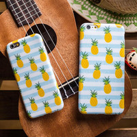 Cute Pineapple iPhone 5s 6 6s Plus Case Cover