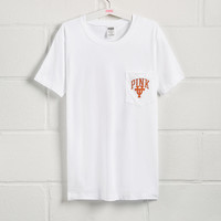 University of Texas Bling Short Sleeve Campus Pocket Tee - PINK - Victoria's Secret