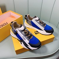 FENDI Fashion Men Women's Casual Running Sport Shoes Sneakers Slipper Sandals High Heels Shoes0412em