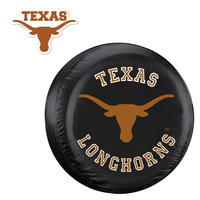 Texas Longhorns NCAA Spare Tire Cover and Grille Logo Set (Regular)