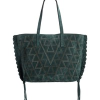 Isabel Marant Zoe Topstitched Suede Tote | Nordstrom
