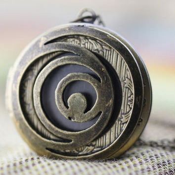 I Am Number Four jewelry the antique bronze locket necklace Christmas gifts