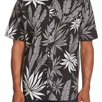 Men's Quiksilver Waterman Collection 'Aventura' Regular Fit Short Sleeve Sport Shirt,