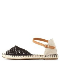Bamboo Rhinestone D'Orsay Espadrille Flats by Charlotte Russe