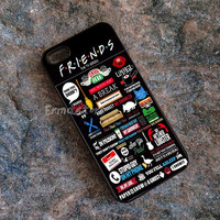 Friends tv Show case For iPhone SE 6s 5s 5c 4s 6 Plus case, iPod 4 5 6 case, Samsung S7 s6 s5 s4 s3 Case, Note 5 4 3 Cases, HTC LG Case