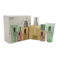 3-step skin care introduction kit - combination oily skin type by clinique 3 Pc Kit