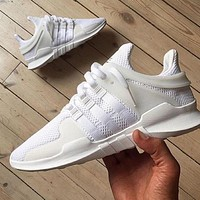 Adidas Equipment Eqt Support Adv White Casual Sports Shoes