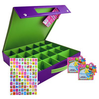 Shopkins Deluxe Carrying Case and Sticker Set