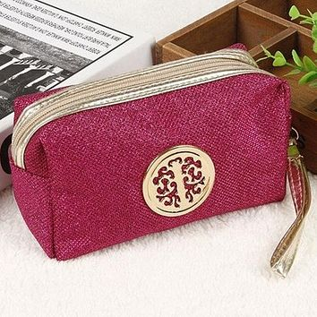 High quality Large Capacity Travel Make up Bag Portable Cosmetic Bag Purse Pouch Sac a Main Brand Make Up Pouch In 2017